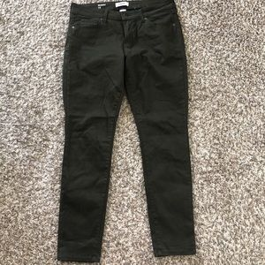Size 12 hunter green pants, Sonoma brand